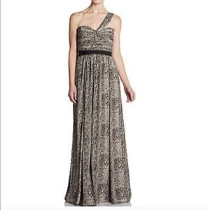 "BCBG python sweetheart dress ""jamille"" size 4"